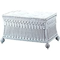 Spice Islands Classic Blanket Chest, Medium, White
