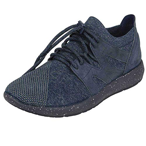 Earth 5 Womens M 7 Navy Blaze Oxford RqRxwPra