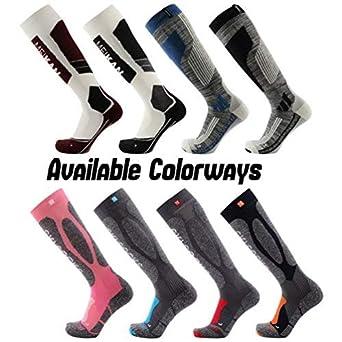 2019 Fashion 1 Pair Sports Thick Thermal Snowboard Ski Socks Hiking Skiing Cycling Warm Leg Cotton Winter Men's Bags