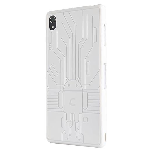 52 opinioni per Cruzerlite Bugdroid Circuit Custodia per Sony Xperia Z3, Bianco