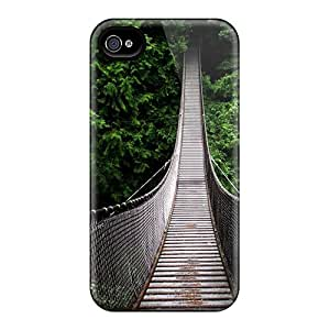 Slim Fit Protector Shock Absorbent Bumper Swinging Bridge Cases For Iphone 6