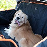 Rexway 2018 Dog Seat Cover for Back Seat, Waterproof Pet Hammock with Viewing Window and Side Flaps, Protector for Cars/SUVs/Trucks