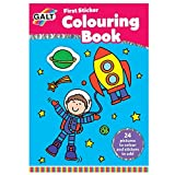 Galt First Sticker Colouring Book by Galt America