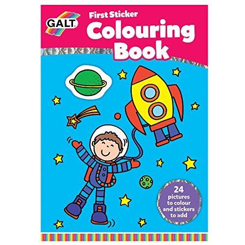 Galt First Sticker Colouring Book by Galt America