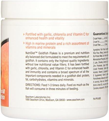 Seachem Nutridiet Goldfish Flakes con probióticos 3
