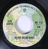 ALICE COOPER 45 RPM BILLION DOLLAR BABIES / MARY ANN