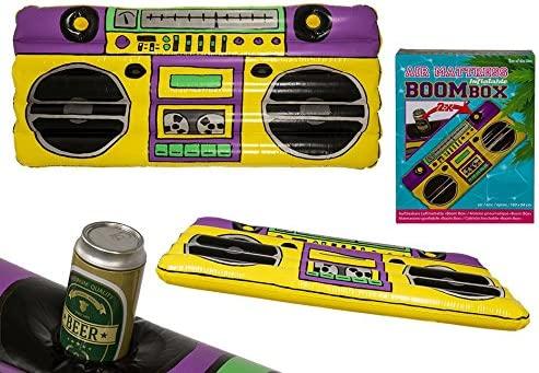 OOTB Boom Box Hinchable Colchón de Aire, Negro, Amarillo ...