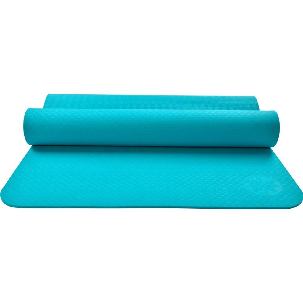 Yoga Matte Extralange Nicht Beleg Frauen, mit Tragendem Bügel und Tasche, Anti-Riss-Übungsmatte mit Hoher Dichte Für Pilates-Eignungs-Training