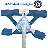 Nicehel Replacement for CPAP/BIPAP Headgear Strap ResMed Universal(Blue)