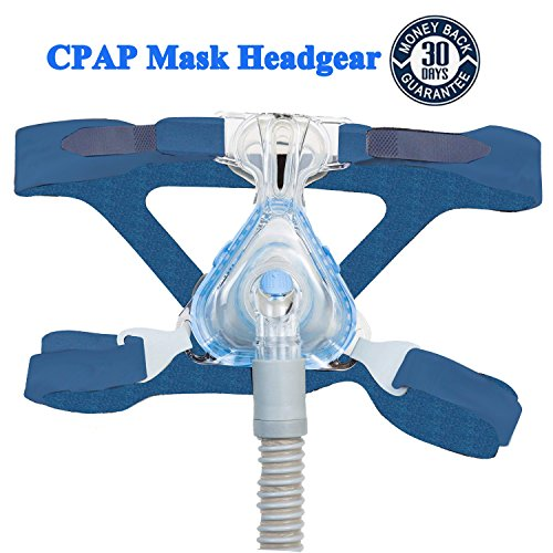- Nicehel Replacement for CPAP/BIPAP Headgear Strap ResMed Universal(Blue)
