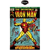 Iron Man Invincible Comic Book Cover Wall Graphic