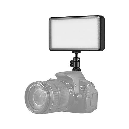 Andoer W228 LED luz de vídeo, 228pcs 20 W bicolor 3200 K/6000 K ...