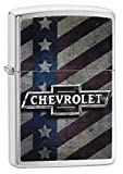 Zippo Chevrolet Pocket Lighter, Brushed Chrome