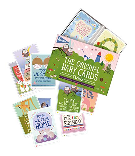 (Milestone Twins Baby Cards)