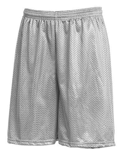 LA Speedy Men's Mesh Performance Gym Athletic Shorts No Pockets with Drawstring