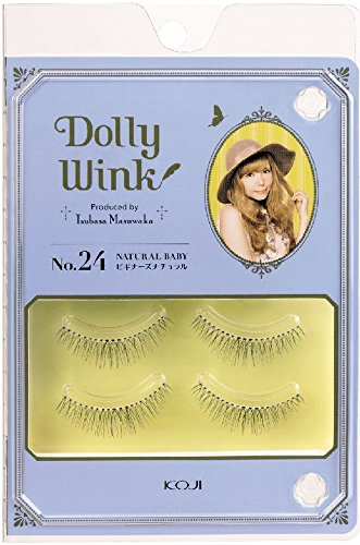 51lxzXAG8vL DOLLY WINK Koji False Eyelashes, No. 24 Natural Baby