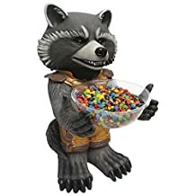Rubies Costume 68576 Marvel Universe Rocket Raccoon Candy Bowl Holder Statue