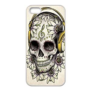 EZCASE Sugar Skull Phone Case For iPhone 5,5S [Pattern-4]