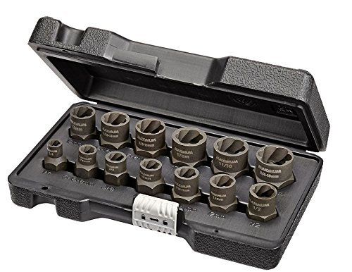 - Maximum Impact Bolt & Nut Remover Set 13 pieces