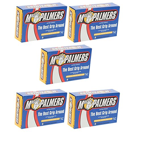 Mrs. Palmers Tropical Surfboard Wax 5 Pack (Tropical Surf Wax)