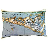 Manitoulin Vintage Map Pillow