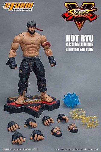 Street Fighter V Hot Ryu Black Pants Figure - NYCC 2017 Exc.