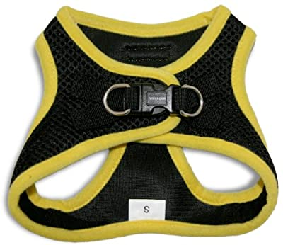 Voyager All Weather No Pull Step-in Mesh Dog Harness with Padded Vest, Best Pet Supplies, Extra Large, Yellow