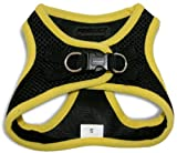 """Voyager Step-In Air Dog Harness - All Weather Mesh, Step In Vest Harness for Small and Medium Dogs by Best Pet Supplies - Yellow, X-Large (Chest: 21"""" - 23""""), 207-YW-XL"""