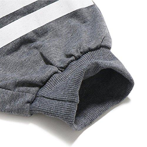 Gris Poches Vêtements Plage Shorts Court Lâche Pantalon Foncé Outdoor Mode Grande Droit Casual Adeshop Impression D'été Taille Type Nouveau Numéro Sports Élasticité Hommes Z1Hwq7