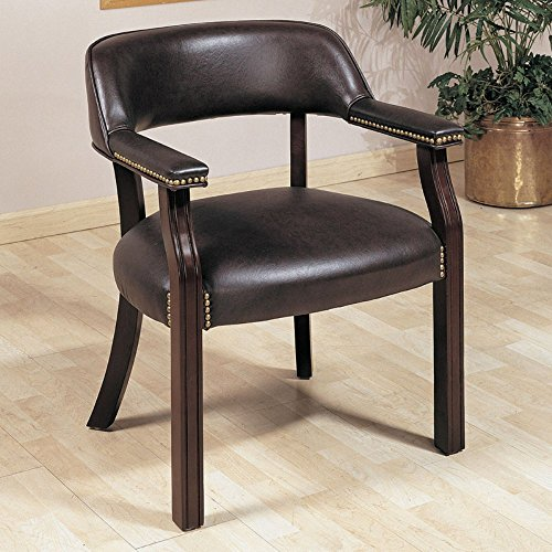 Coaster 411B-CO Furniture Guest Chair - Cappuccino, Cappuccino ()