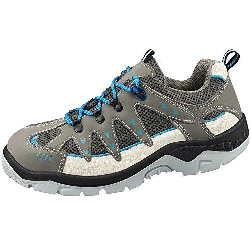 Abeba 2290-46 Anatom Chaussures de sécurité bas Taille 46 Gris/Bleu