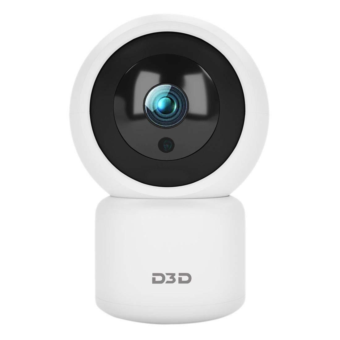D3D T2816 HD 1080P Wifi Home Security Camera PTZ 360 (White)
