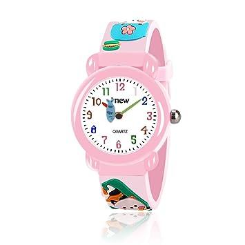 Tisy Regalos para Niñas de 4-9 Años, Único Relojes para Niños Regalos para