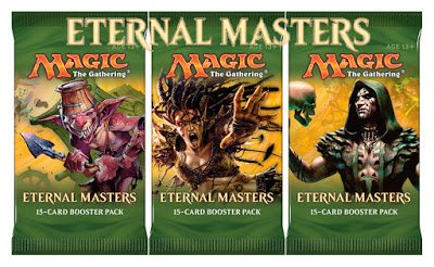Magic The Gathering Draft (3 (Three) Packs of Magic: the Gathering: Eternal Master's Booster Packs - EMA (3 Pack Lot))