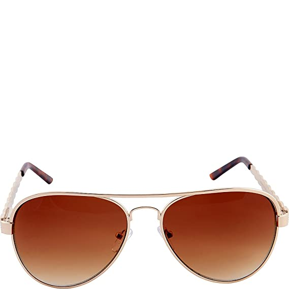 76fba39dd83 Nanette by Nanette Lepore Women s Nn143 Gldbr Aviator Sunglasses ...