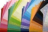 60 Mulberry Paper Sheet Design Craft Hand Made Art Tissue Japan Washi Design Craft Art Origami Suppliers Card Making