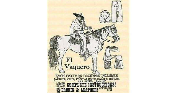 Amazon.com: El vaquero Western costura para disfraces: Toys ...