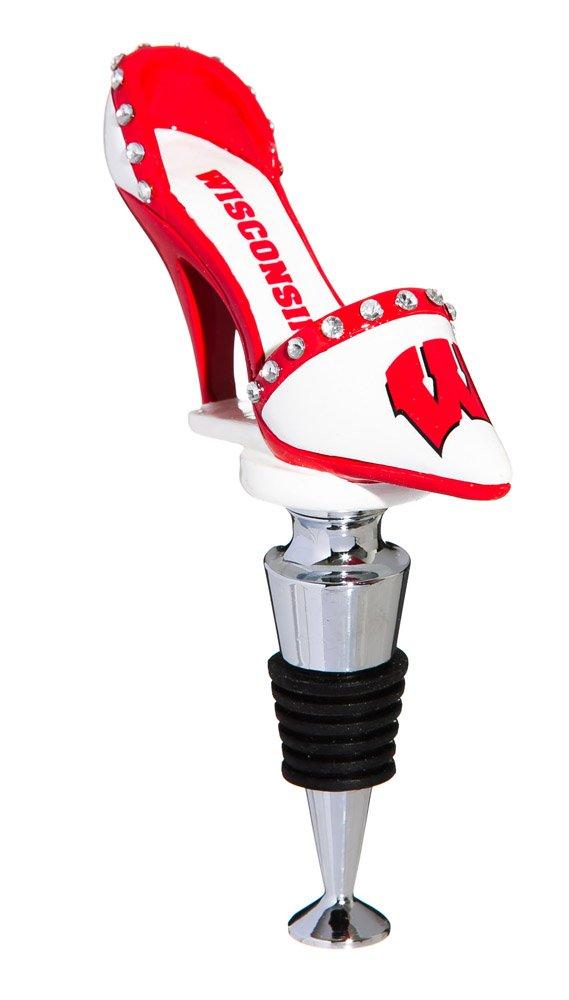 University of Wisconsin Badgers High Heel Shoe Bottle Stopper