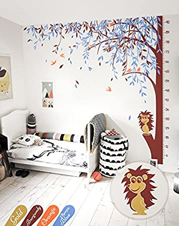 Amazon.com: Large tree wall decal willow tree wall mural sticker ...