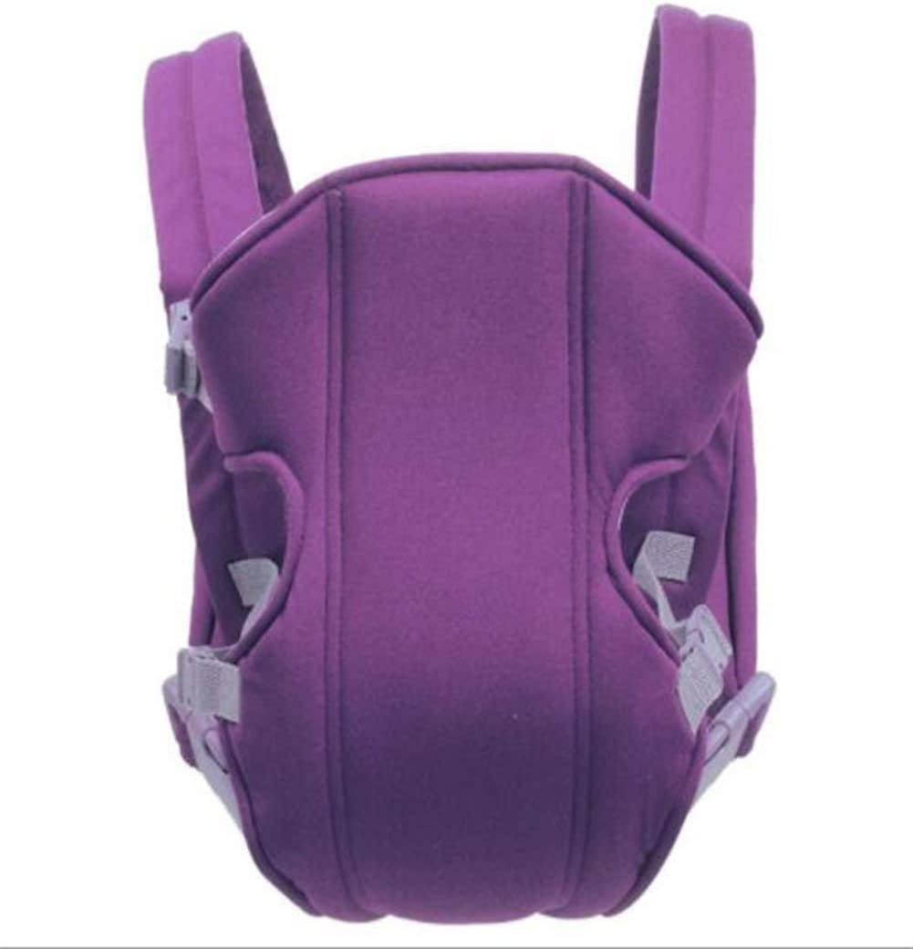 ASDFGH Breathable Front Baby Carrier Comfortable Backpack Backpack Bag Wrap Kangaroo Adjustable Safety Strap (Color : 4)