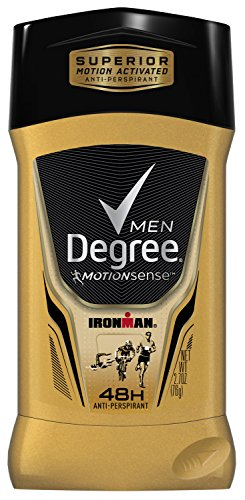 Degree Men Série Adrenaline & Déodorant antisudorifique, Ironman 2,7 oz