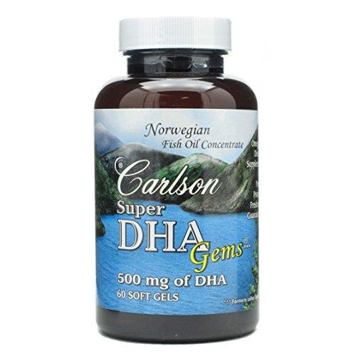 Carlson Super DHA 60 Soft Gels