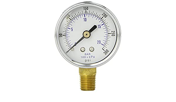Sellerocity Gauge Compatible with Husky Coleman Powermate E103339 Includes Thread Tape
