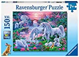 Ravensburger Unicorns in The Sunset Glow 150 Piece Jigsaw Puzzle for Kids - Every Piece is Unique, Pieces Fit Together Perfectly