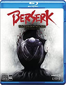 Berserk The Golden Age Arc The Movie Collection on Blu-ray