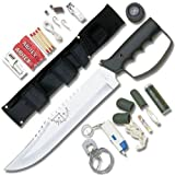 United Cutlery Bush Master Survival Knife, Outdoor Stuffs