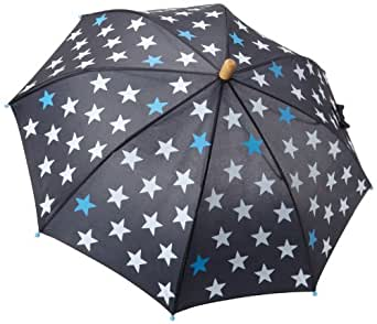 Hatley Little Boys' Fun Stars Umbrella, Nauti Navy, One Size