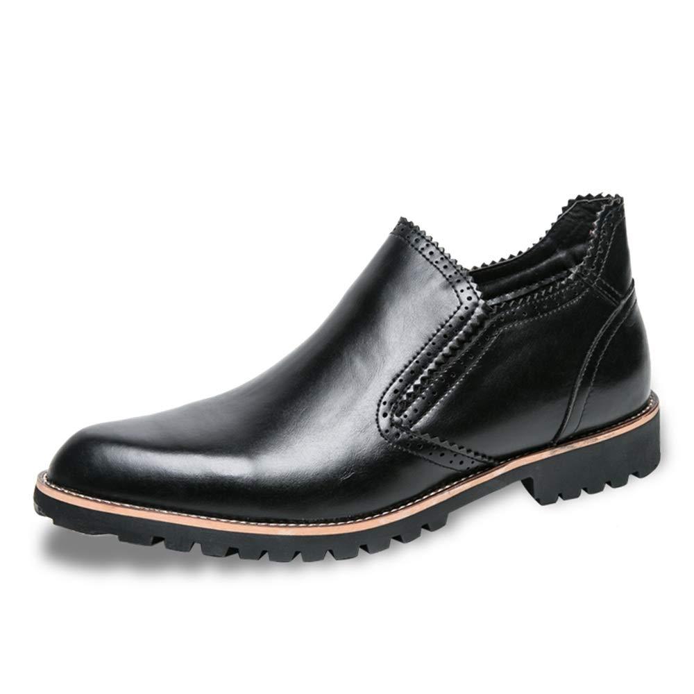 Hilotu Mens Tuxedo Shoes Patent Leather Wedding Shoes Classic Pure Color Lace-up Formal Business Oxford Dress Shoes