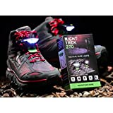 Night Trek 270° – Tactical Shoe Lights, 150 Lumens, 2 Ultra Bright LED Lights, 3-5 Hour Rechargeable, Perfect for Camping, Hiking, Cycling, Hunting and All Other Outdoor Activities