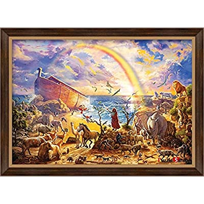 [ Puzzle Life ] Norak'H ARK Ⅱ   1000 Piece Jigsaw Puzzle for Adults, Teens and Family: Toys & Games